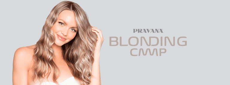 Blonding Camp PRAVANA